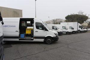 Officina mobile per camion a Milano